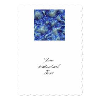 Alien DNA blue 5x7 Paper Invitation Card