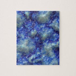 Alien DNA blue Jigsaw Puzzle