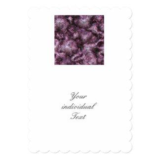 Alien DNA purple 5x7 Paper Invitation Card