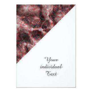 Alien DNA red 5x7 Paper Invitation Card