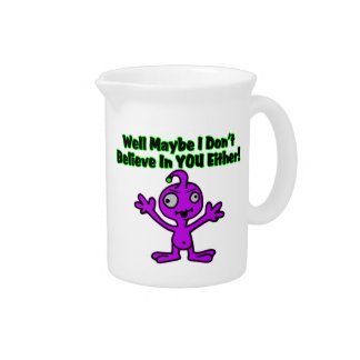 Alien Doesn't Believe In You Either Pitchers