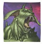 Alien Dog Monster Warrior by Al Rio Bandanas