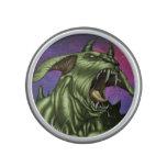 Alien Dog Monster Warrior by Al Rio Bluetooth Speaker