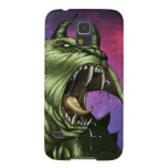 Alien Dog Monster Warrior by Al Rio Galaxy S5 Cover