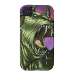 Alien Dog Monster Warrior by Al Rio Case For The iPhone 4