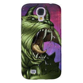 Alien Dog Monster Warrior by Al Rio Samsung Galaxy S4 Cover