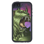 Alien Dog Monster Warrior by Al Rio iPhone 5/5S Covers