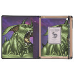 Alien Dog Monster Warrior by Al Rio Cases For iPad
