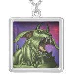 Alien Dog Monster Warrior by Al Rio Custom Jewelry