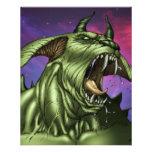 Alien Dog Monster Warrior by Al Rio Flyers