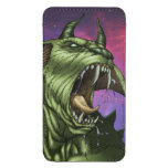 Alien Dog Monster Warrior by Al Rio Galaxy S4 Pouch