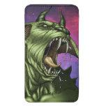 Alien Dog Monster Warrior by Al Rio Galaxy S5 Pouch