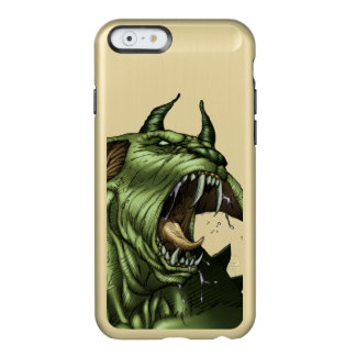 Alien Dog Monster Warrior by Al Rio Incipio Feather® Shine iPhone 6 Case