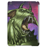 Alien Dog Monster Warrior by Al Rio iPad Air Covers