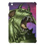 Alien Dog Monster Warrior by Al Rio iPad Mini Cover