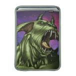 Alien Dog Monster Warrior by Al Rio MacBook Sleeves