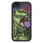 Alien Dog Monster Warrior by Al Rio iPhone 5 Case