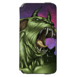 Alien Dog Monster Warrior by Al Rio iPhone 6/6s Wallet Case