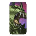Alien Dog Monster Warrior by Al Rio iPhone 4/4S Case