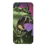 Alien Dog Monster Warrior by Al Rio iPhone 5/5S Cover