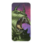 Alien Dog Monster Warrior by Al Rio iPhone SE/5/5s/5c Pouch