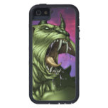 Alien Dog Monster Warrior by Al Rio iPhone SE/5/5s Case