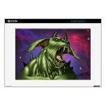Alien Dog Monster Warrior by Al Rio Laptop Skins