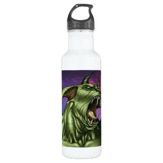 Alien Dog Monster Warrior by Al Rio 24oz Water Bottle