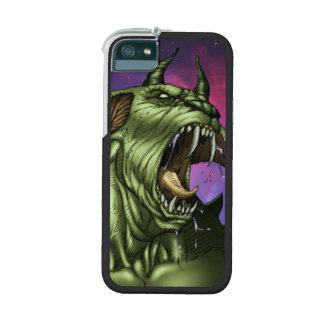 Alien Dog Monster Warrior by Al Rio Phone SE/5/5s Case