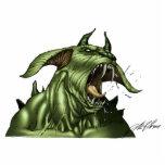 Alien Dog Monster Warrior by Al Rio Photo Sculptures
