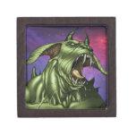 Alien Dog Monster Warrior by Al Rio Premium Gift Boxes
