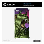 Alien Dog Monster Warrior by Al Rio Skin For The iPhone 4S