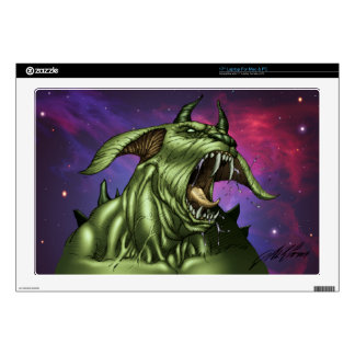 "Alien Dog Monster Warrior by Al Rio 17"" Laptop Skin"