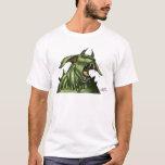 Alien Dog Monster Warrior by Al Rio T-Shirt