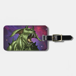 Alien Dog Monster Warrior by Al Rio Tags For Bags