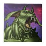 Alien Dog Monster Warrior by Al Rio Tiles