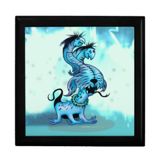 ALIEN DOGGY MONSTERS Square Bigger gift box