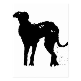 Alien Doggy Postcard