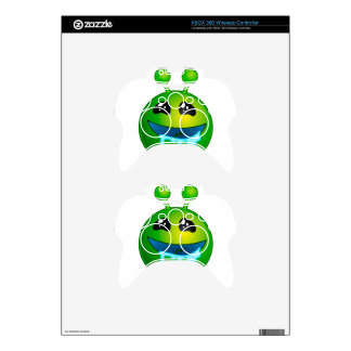 alien drooling xbox 360 controller skins