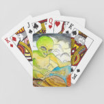 "Alien Drummer Playing Cards<br><div class=""desc"">Alien Drummer drumming away</div>"