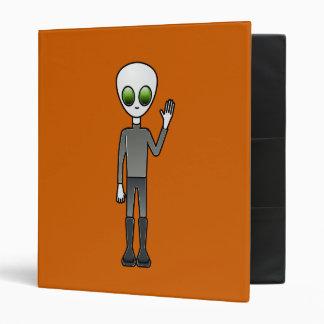 Alien Dude Binder