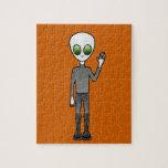 Alien Dude Puzzle