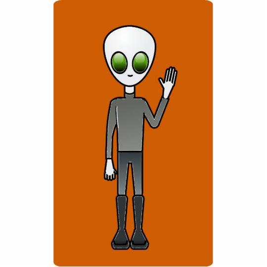 Alien Dude Statuette