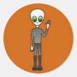 Alien Dude Sticker