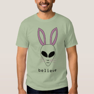 alien easter bunny t shirts