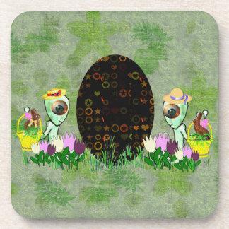 Alien Easter Egg Hunt Coaster