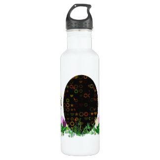 Alien Easter Egg Hunt 24oz Water Bottle