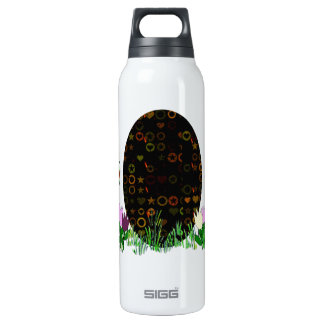 Alien Easter Egg Hunt 16 Oz Insulated SIGG Thermos Water Bottle