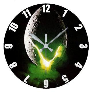Alien Egg Large Clock