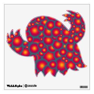 Alien eggs wall decal